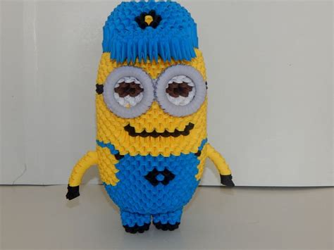 tutorial origami 3d minion 1000 images about my 3d origami collection on pinterest