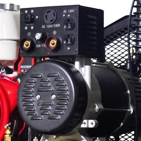mega combo air compressor generator and welder unit mp 13030hwg all tire supply llc