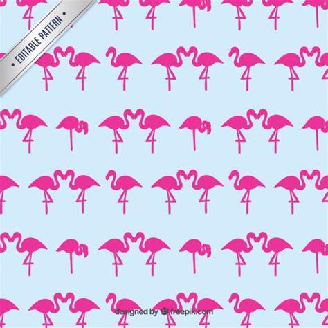 pink pattern show pink flamingos pattern vector free download