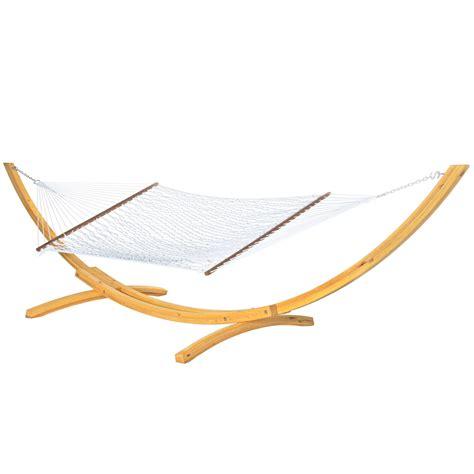 White Hammocks hammocks large white polyester rope hammock on sale