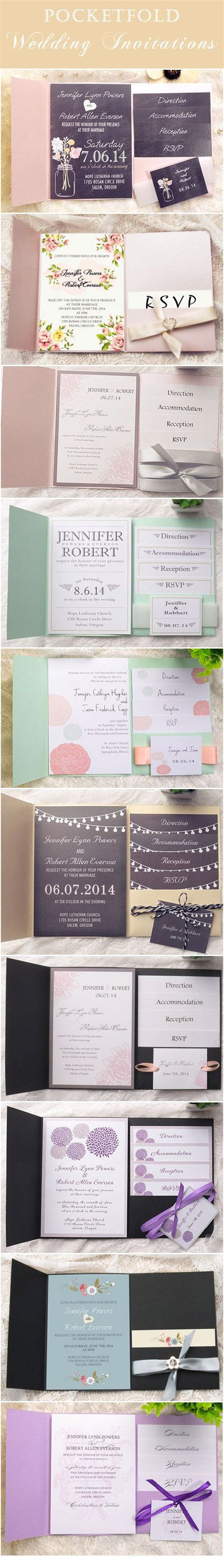 free sle pocket wedding invitations 25 best ideas about wedding response cards on