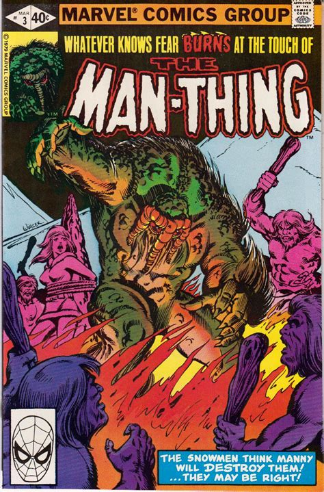 the thing marvel comic book lot detail 1974 81 the man thing 1 19704 the man