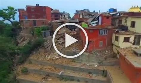 earthquake video download tragic drone footage reveals devastating aftermath of