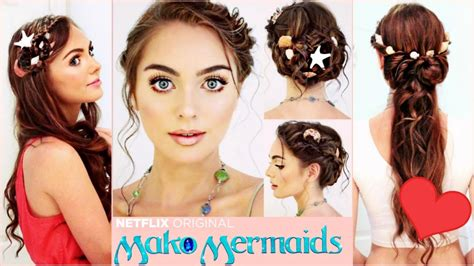 mermaid hairstyle mako mermaids hairstyles tutorial sirena s braids