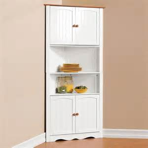 Corner Storage Cabinets For Kitchen by Corner Cabinet Pantry Cupboard Home Kitchen Dining Wine