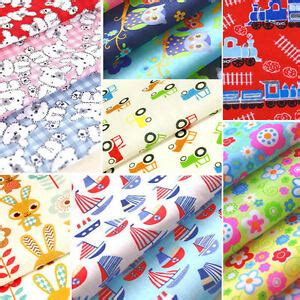 fabric crafts for children childrens fabric polycotton material nursery boy