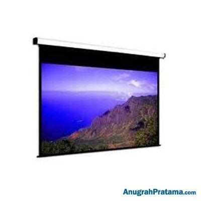 Layar Wall Projector brite manual screen mas1818 70 inch 178x178 cm layar