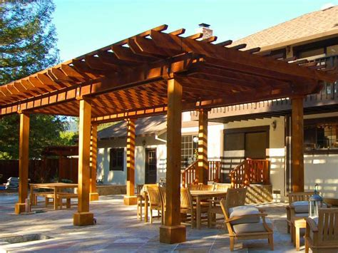 Jw Redwood Patio Covers; Outdoor Construction Project