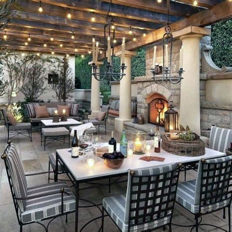 top   patio fireplace ideas backyard living space