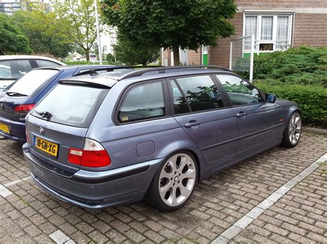 bmw beamer 2001 my e46 touring wagon 2 2l 320i year 2001 color stahlblau