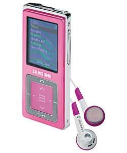 mp player zap pink mp3 players 1gb