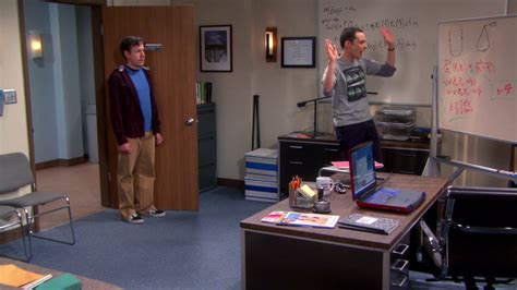 Raj Desk Sheldon Office The Cooper Kripke Inversion The Big Theory Wiki