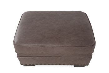 Broyhill Leather Ottoman Broyhill Estes Park Leather Ottoman Mathis Brothers Furniture