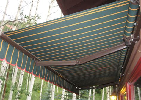 Shade Awnings Retractable Awnings Aspen Awnings Upholstery Blinds