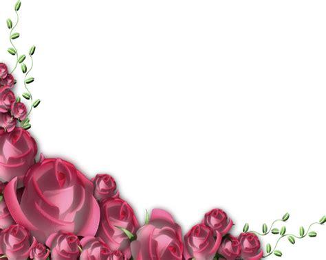 imagenes png de flores marcos para fotos flores png imagui