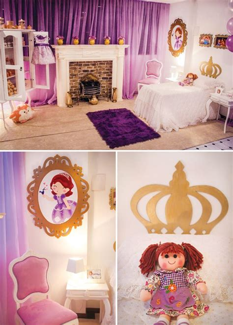 Princess Sofia Bedroom Decor by Castillo De La Princesa Sof 237 A Fiestas Infantiles