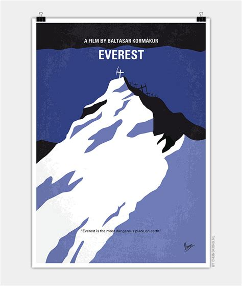 everest film 2015 quotes no492 my everest minimal movie poster chungkong