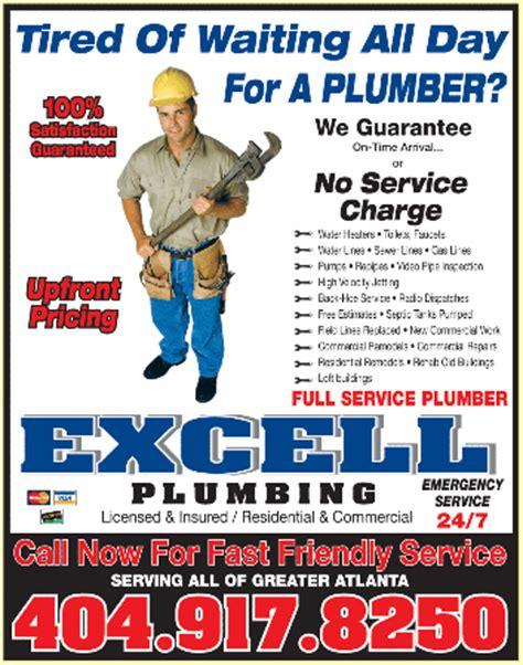 Plumbing Adverts plumbing contractors display ads