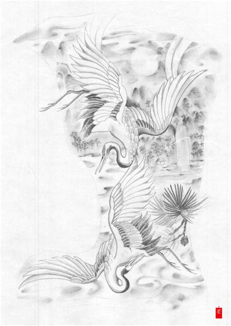 japanese crane tattoo designs japanese crane design tattoos book 65 000