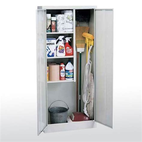 storage cabinets for mops and brooms janitorial storage cabinet storage for brooms mops etc