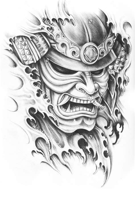 samurai helmet tattoo designs 1000 ideas about samurai