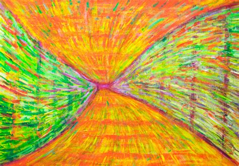 abstract expressionism pattern kazuya akimoto art 365 187 quot psychedelic metro tunnel