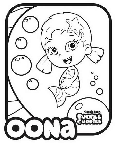bubble puppy coloring page bubble guppies coloring pages best coloring pages for kids