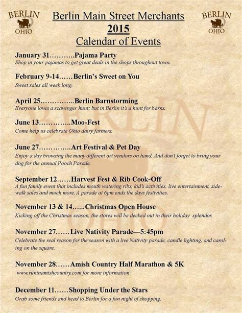 Calendar X Cook County 100 Ideas To Try About Amish Country Ohio Events Rib