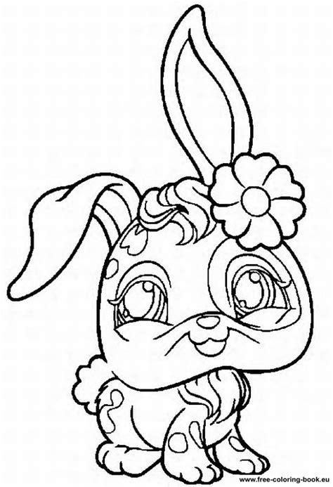 coloring pages littlest pet shop page 1 printable