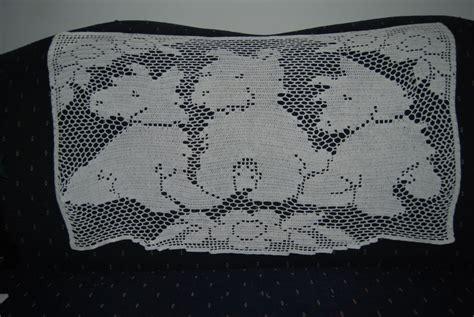 free filet crochet curtain patterns free crocheted window curtain patterns 171 patterns