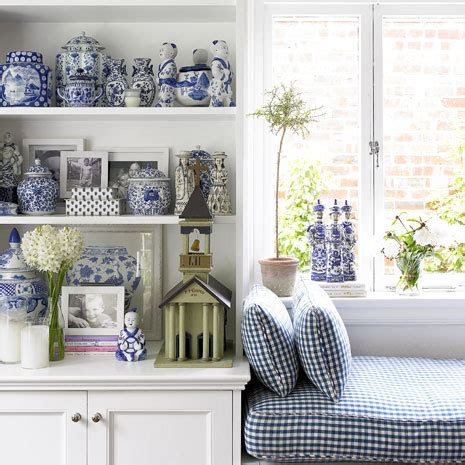 and blue home decor decorating with blues and white inspiring interiors