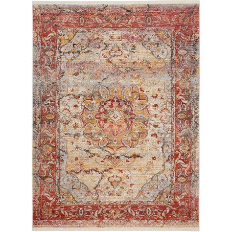 safavieh rugs overstock safavieh vintage pink multi polyester rug 8 x