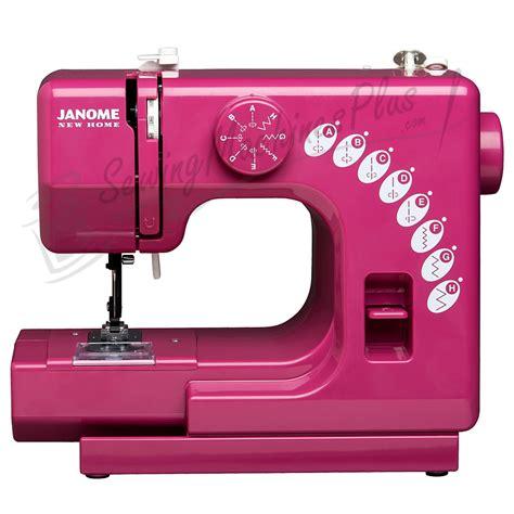 mini swing machine janome sew mini sewing machine merlot