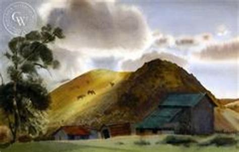 puppy barn provo farm in provo utah 1939 california watercolor