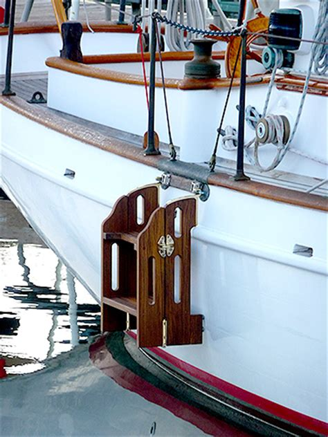 boat boarding stairs boarding ladders for sailboats yachts boats trawlers