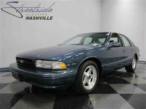 96 chevy impala ss parts 1996 chevrolet impala ss for sale on classiccars