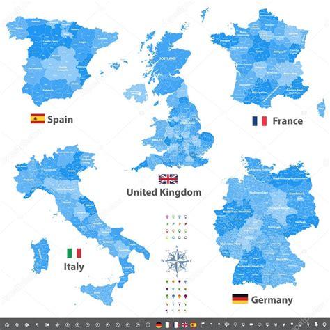 b ro gr ne karte ev frankreich karte abteilung