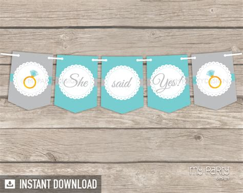 printable banner for wedding shower bridal shower scalloped theme printable banner my party