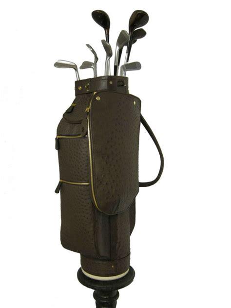 Handmade Golf Bags - treccani s custom leather golf bags extravaganzi