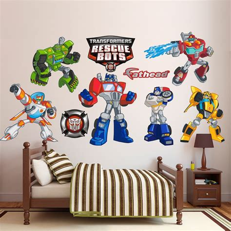 transformers wall stickers 1000 ideas about rescue bots on rescue bots