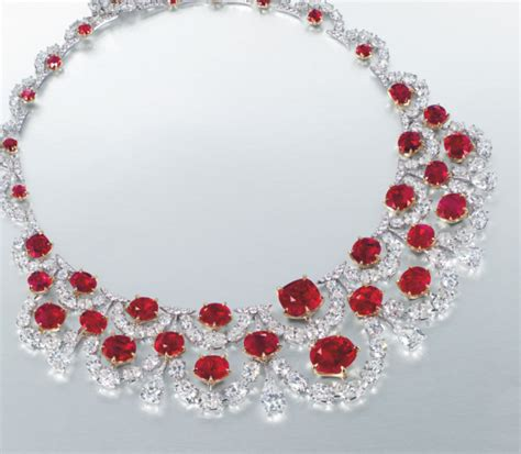 Christie?s Sets a World Record: Most Expensive Ruby Necklace Sold at Auction