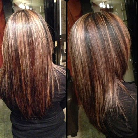 highlights and lowlights for brunettes highlights lowlights hair colour ideas pinterest