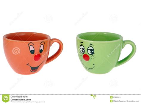 tea and coffee mugs tea mugs and coffee cups stock photos image 27965413