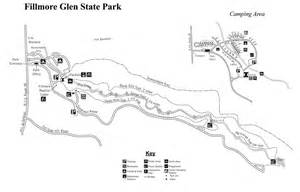 Watkins Glen State Park Map by Fillmore Glen State Park Maplets
