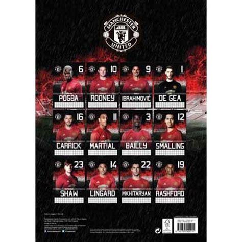 2017 Utd Mba Fall Calendar by Manchester Utd Calendarios 2018