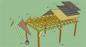 carport construction plans how to build an attached carport plans woodguides