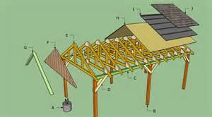 carport blueprints free carport plans howtospecialist how to build step