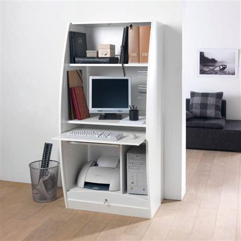 armoire pour ordinateur meuble secretaire pour ordinateur maison design