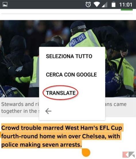 traduttore mobile tradurre pagine web con firefox in android chimerarevo