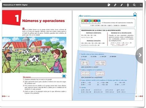 libro aprender es crecer lengua recursos educativos de primaria unidad 1 de matem 225 ticas de 5 186 de primaria quot n 250 meros y operaciones quot